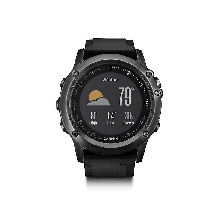 Garmin Fenix 3 Sapphire HR GPS Smartwatch - Black - Product number 5210577