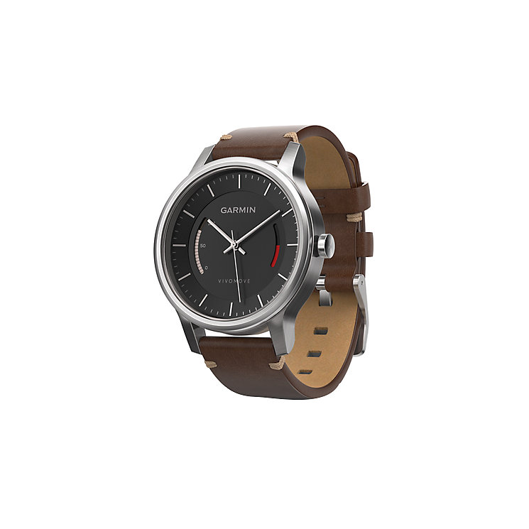 Garmin Vivomove Premium Activity Tracker - Brown/Steel - Product number 5210623