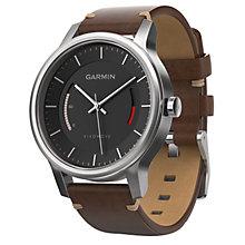 Garmin Vivomove Premium Activity Tracker - Brown/Steel - Product number 5210623