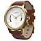 Garmin Vivomove Premium Activity Tracker - Brown/Gold - Product number 5212111