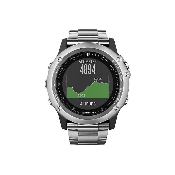 Garmin Fenix 3 Sapphire GPS Smartwatch - Titanium - Product number 5212146