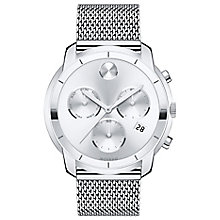 Movado Bold Men's Plated Stainless Steel Bracelet Watch - Product number 5212375