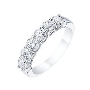 Platinum 1ct Certified Diamond Ring - Product number 5213304
