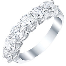 Platinum 2ct Certified Diamond Ring - Product number 5213444
