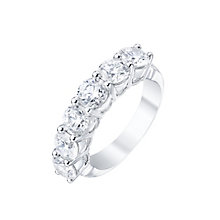 Platinum 3ct Certified Diamond Ring - Product number 5213576