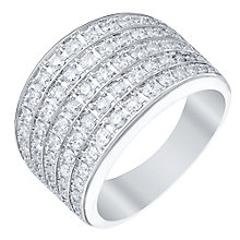 18ct White Gold 1ct Diamond Ring - Product number 5214033