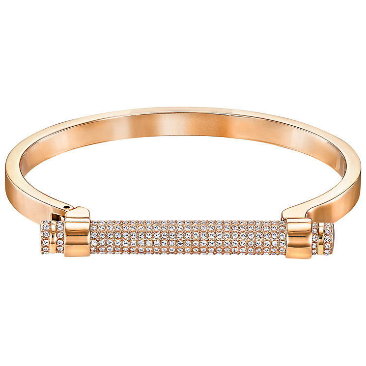Swarovski Friend Rose Gold Plated Crystal Bangle - Product number 5217040