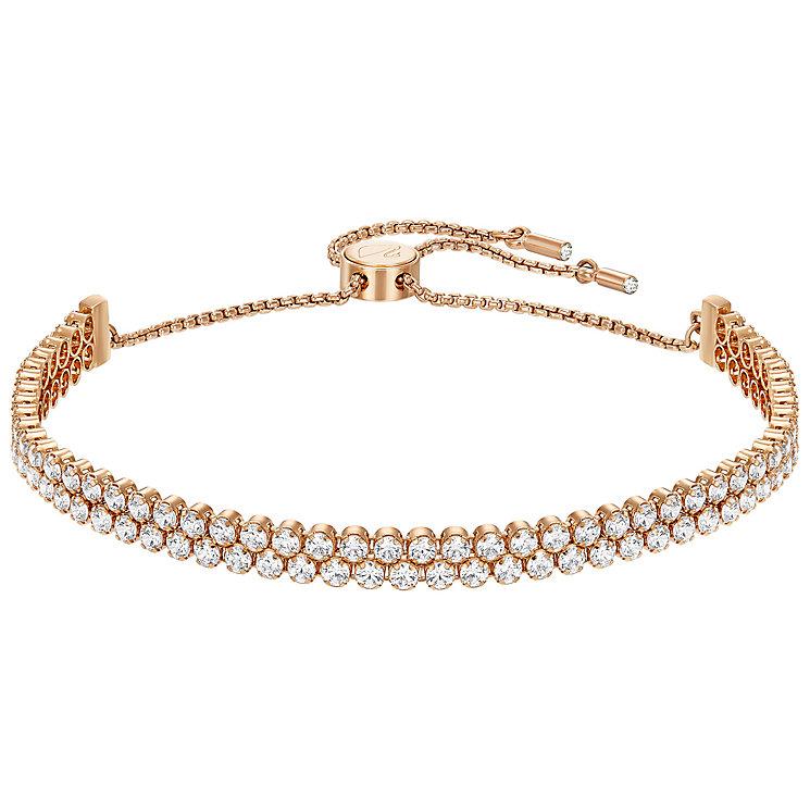 Swarovski Subtle Gold Tone Crystal Set Bracelet - Product number 5217075