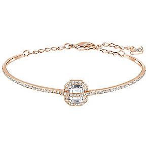 Swarovski Favor Rose Gold Plated Crystal Bangle - Product number 5217105