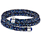 Swarovski Blue Crystal Dust Bangle - Product number 5217121