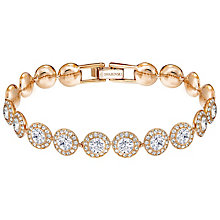 Swarovski Angelic Rose Gold Plated Crystal Bracelet - Product number 5217199