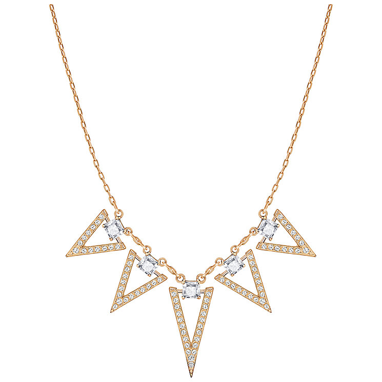 Swarovski Funk Rose Gold Plated Crystal Necklace - Product number 5217520