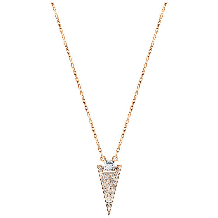 Swarovski Funk Rose Gold Plated Crystal Pendant - Product number 5217539