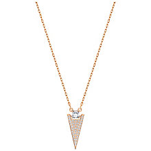 Swarovski Funk Rose Gold Plated Crystal Pendant - Product number 5217539