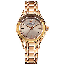 Swarovski Alegria Ladies' Rose Gold Plated Bracelet Watch - Product number 5217806