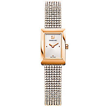 Swarovski Ladies' Gold Tone Stone Set Strap Watcj - Product number 5217830