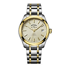 Rotary Ladies' Two Colour Bracelet Watch - Product number 5220416