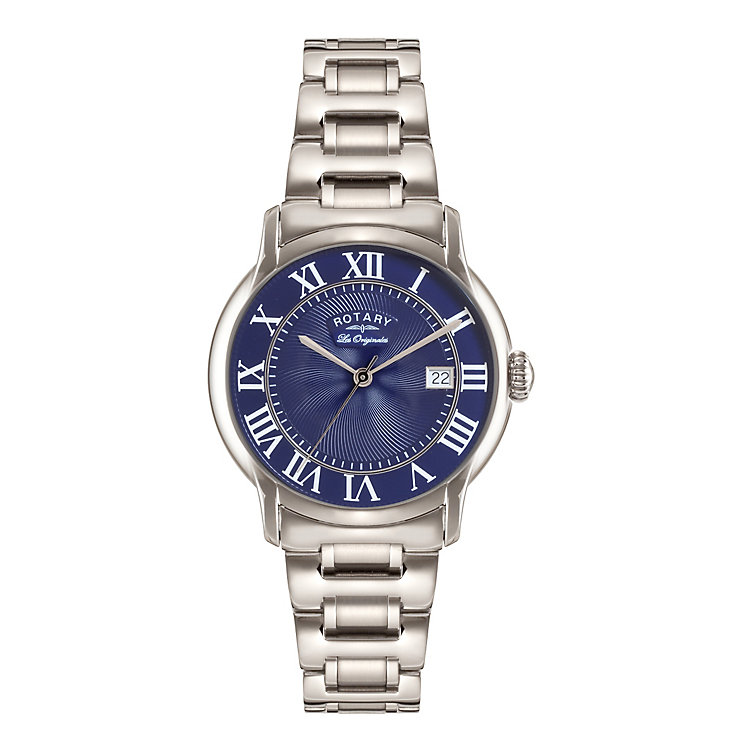 Rotary Caviano Men's Stainless Steel Bracelet Watch - Product number 5220483