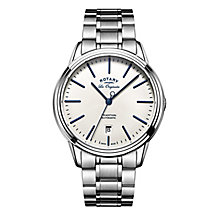 Rotary Tradition Men's Stainless Steel Bracelet Watch - Product number 5220548