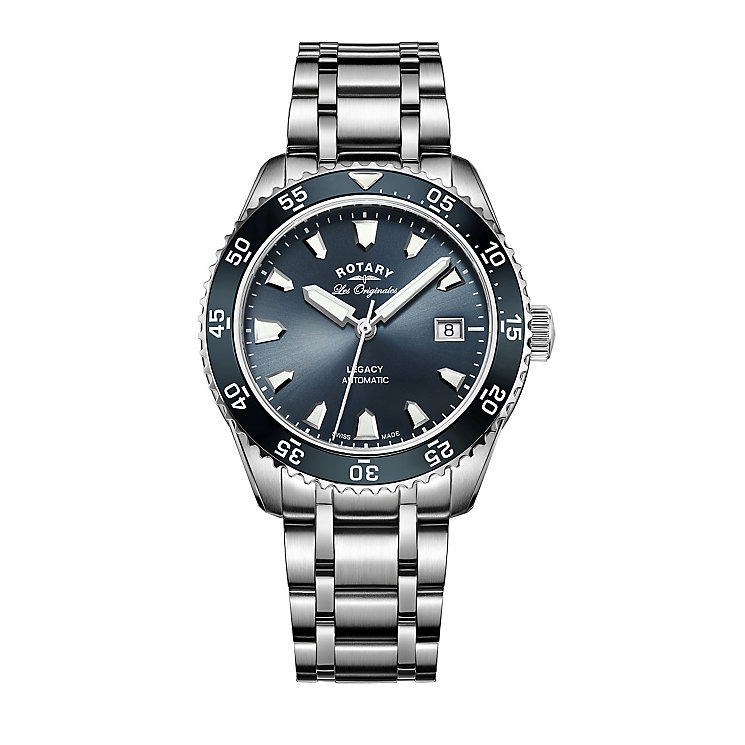 Rotary Legacy Men's Stainless Steel Bracelet Watch - Product number 5220580