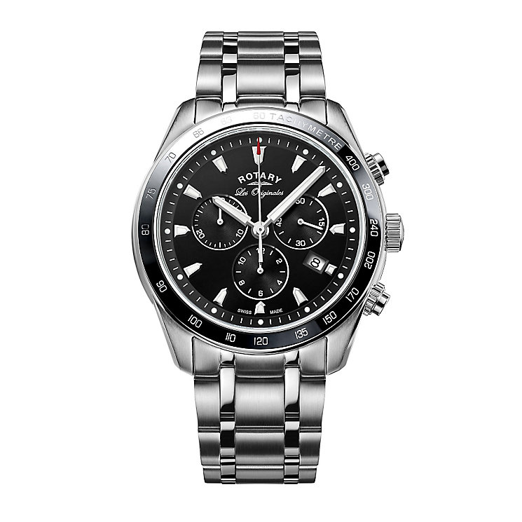 Rotary Legacy Men's Stainless Steel Bracelet Watch - Product number 5220599