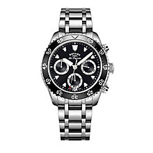 Rotary Legacy Men's Stainless Steel Bracelet Watch - Product number 5220602