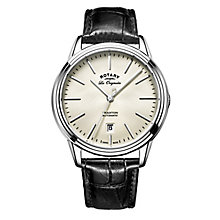 Rotary Tradition Men's Stainless Steel Strap Watch - Product number 5220696
