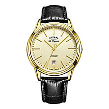 Rotary Tradition Men's Gold Plated Bracelet Watch - Product number 5220718