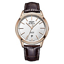 Rotary Tradition Men's Rose Gold Plated Bracelet Watch - Product number 5220726