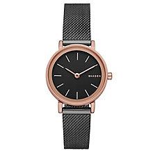 Skagen Ladies' Grey Stainless Steel Mesh Bracelet Watch - Product number 5220769