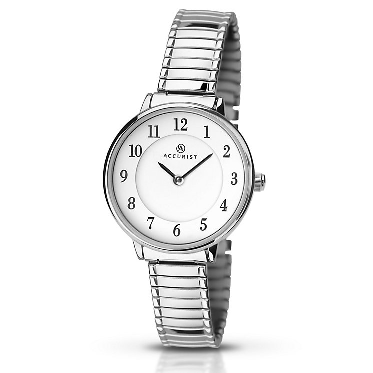Accurist Ladies' Expander Stainless Steel Bracelet Watch - Product number 5221609