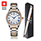 Rotary Ladies' Swiss Made Stainless Steel Watch & Pen Set - Product number 5221846