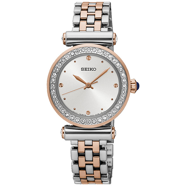 Seiko Ladies' Two Colour Bracelet Watch - Product number 5222206