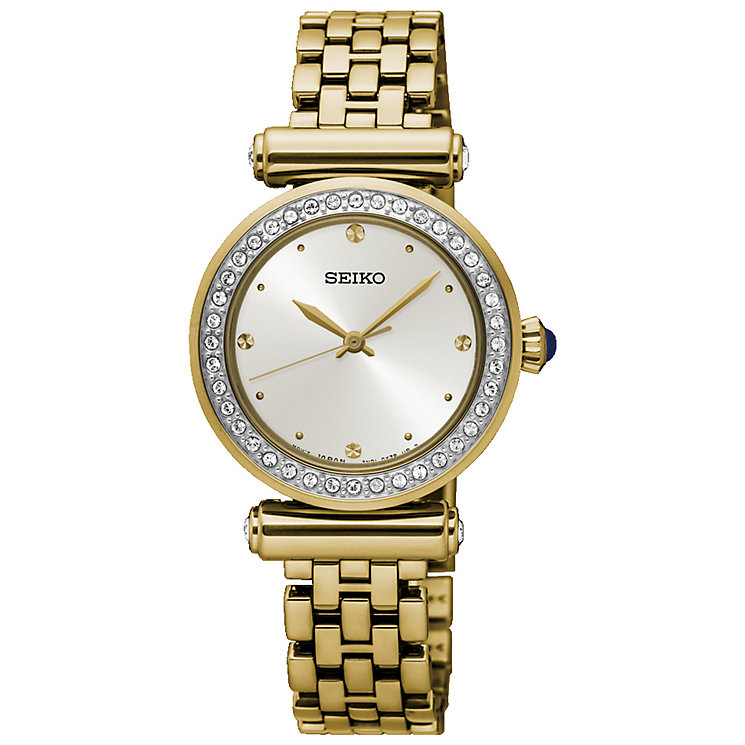 Seiko Ladies' Gold Plated Bracelet Watch - Product number 5222214