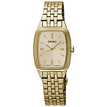 Seiko Ladies' Gold Plated Bracelet Watch - Product number 5222230