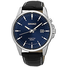 Seiko Kinetic Men's Stainless Steel Strap Watch - Product number 5222257
