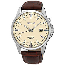 Seiko Conceptual Kinetic Men's Stainless Steel Strap Watch - Product number 5222265