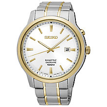 Seiko Conceptual Kinetic Men's Two Colour Bracelet Watch - Product number 5222273