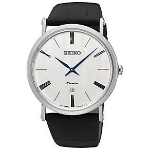 Seiko Premier Men's Stainless Steel Strap Watch - Product number 5222303