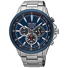 Seiko Solar Men's Stainless Steel Bracelet Watch - Product number 5222451