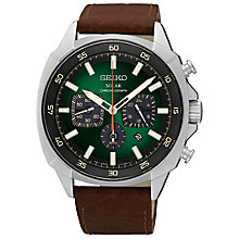 Seiko Solar Men's Stainless Steel Bracelet Watch - Product number 5222478