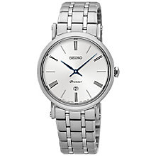 Seiko Premier Ladies' Stainless Steel Bracelet Watch - Product number 5222591
