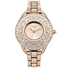 Lipsy Ladies' Rose Gold Plated Bracelet Watch - Product number 5225337