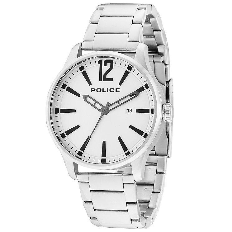 Police Dallas Men's Stainless Steel Bracelet Watch - Product number 5225760