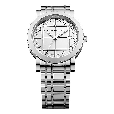 Burberry men's stainless steel bracelet watch. £275.00