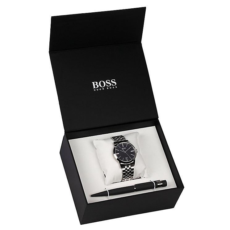 Hugo Boss Men's Bracelet Watch & Pen Gift Set - Product number 5231361