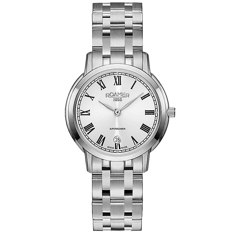 Roamer Super Slender Ladies' Stainless Steel Bracelet Watch - Product number 5234883