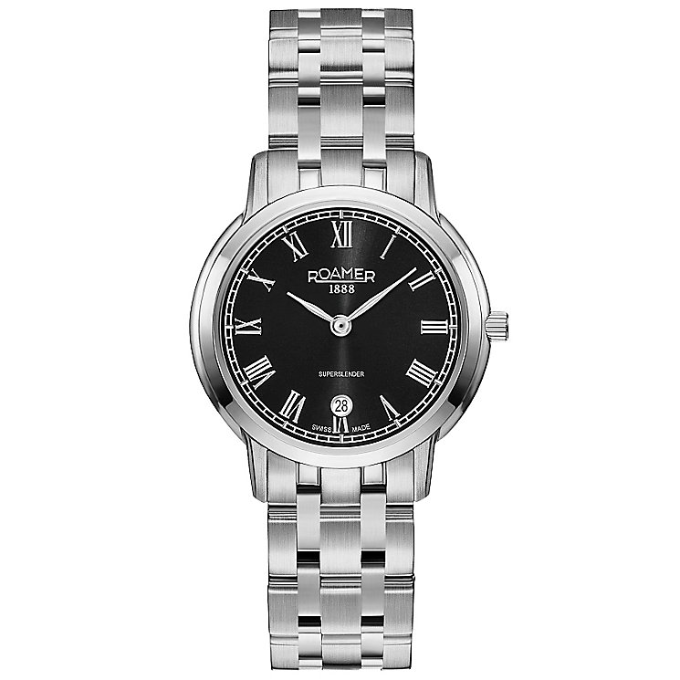 Roamer Super Slender Ladies' Stainless Steel Bracelet Watch - Product number 5235200