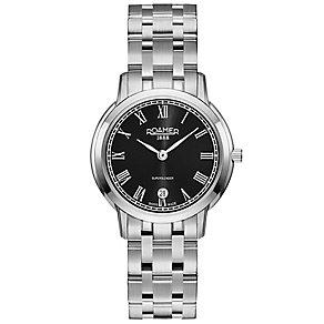 Roamer Super Slender Ladies' Stainless Steel Bracelet Watch - Product number 5235200
