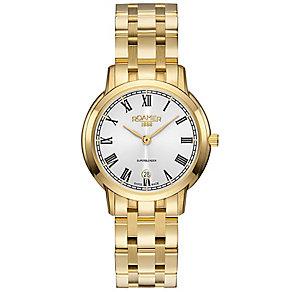 Roamer Super Slender Ladies' Gold Plated Bracelet Watch - Product number 5235227